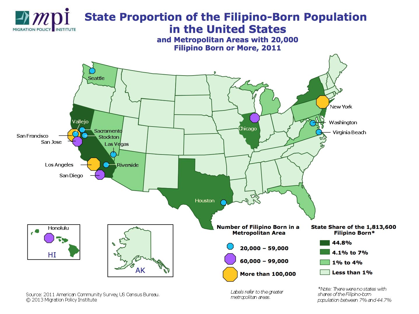 Population Density Map Us Maps Of Immigrants In The United States Migrationpolicy Org