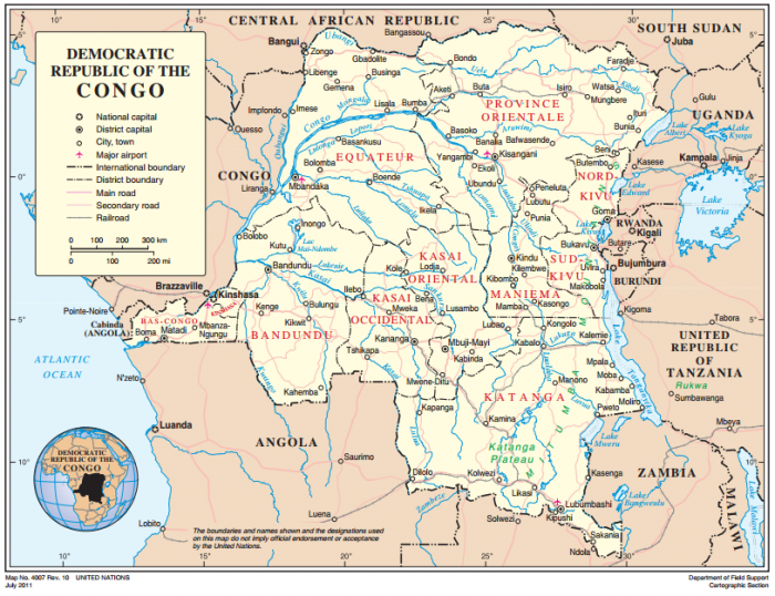 Democratic Republic of the Congo A Migration History Marked by