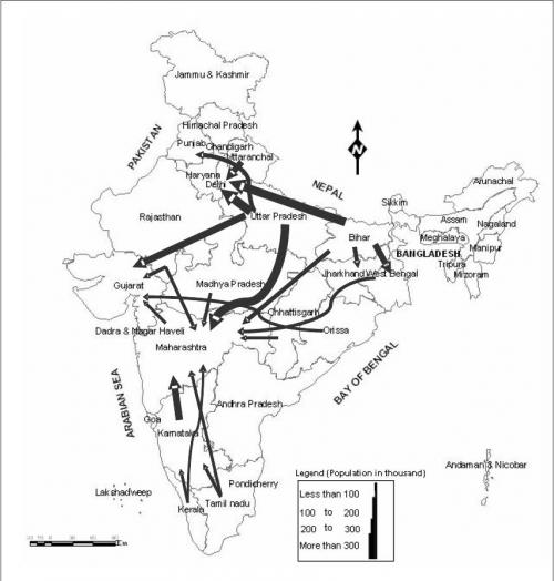impact of rural urban migration in india