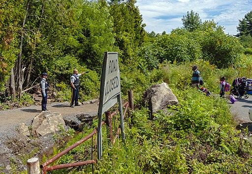Asylum seekers cross into Canada