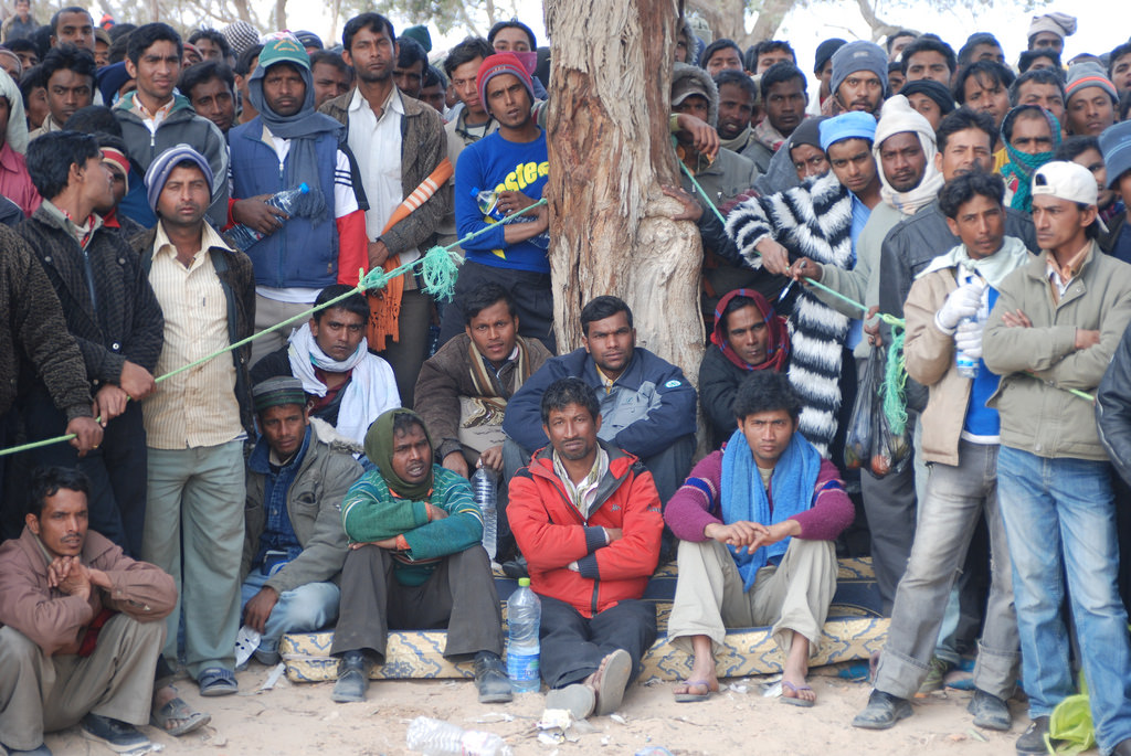 Bangladeshi migrant workers
