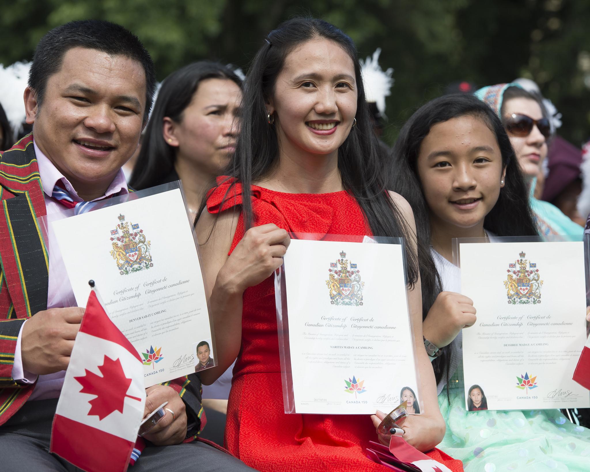 Inmigración en Canadá - Wikipedia, la enciclopedia libre
