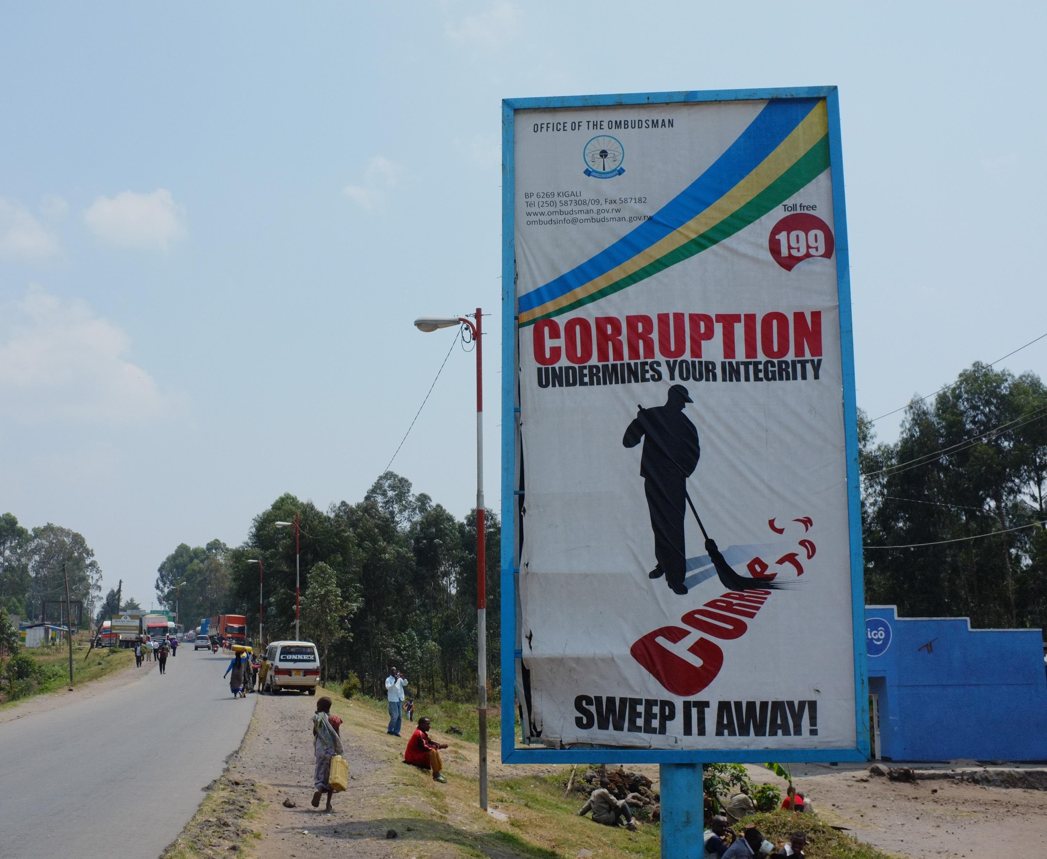 Corruptionunderminesintegrity FredInklaar FlickrA