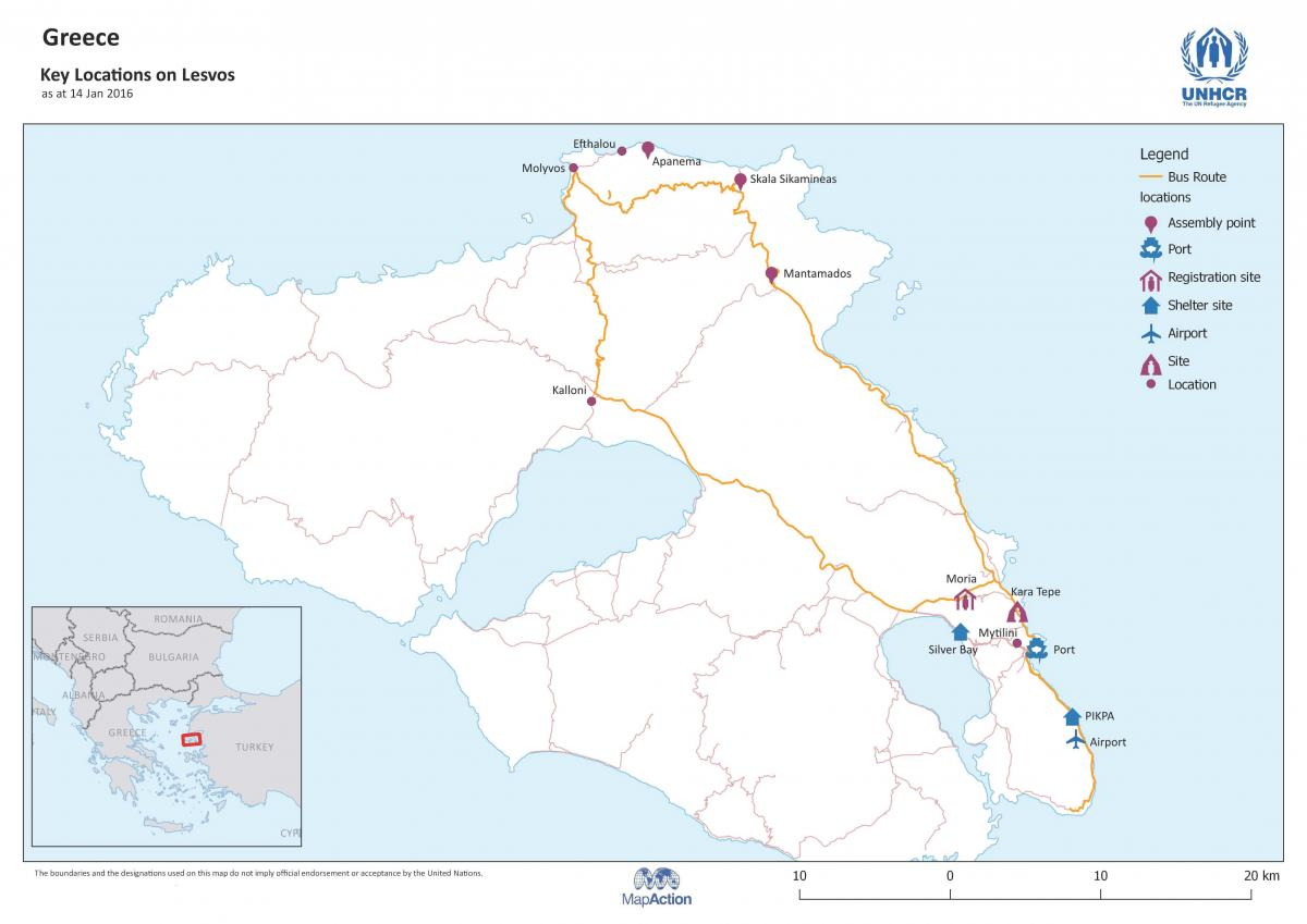 Refugee Flows to Lesvos Evolution of a Humanitarian Response