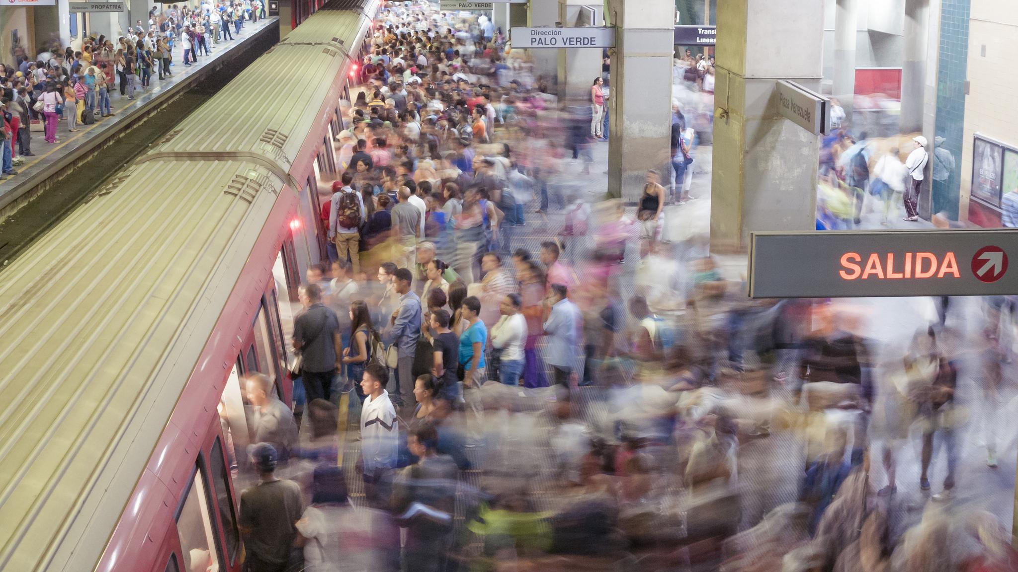 Metro in Caracas