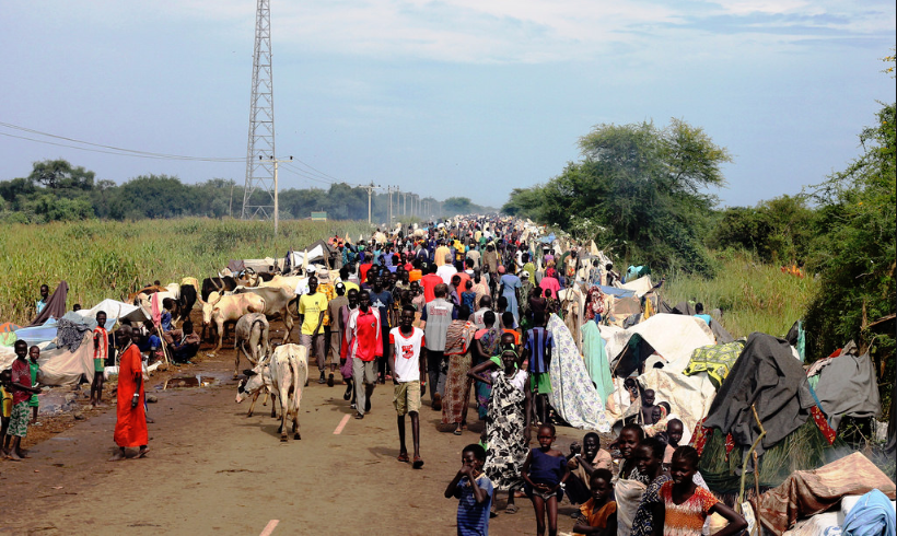 South Sudanese refugees in Ethiopia.