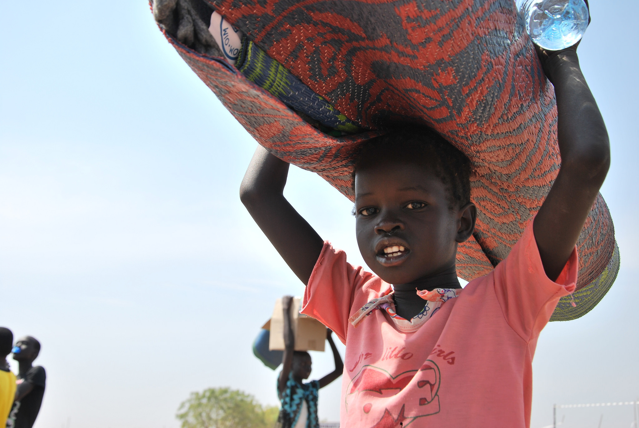 South Sudanese child