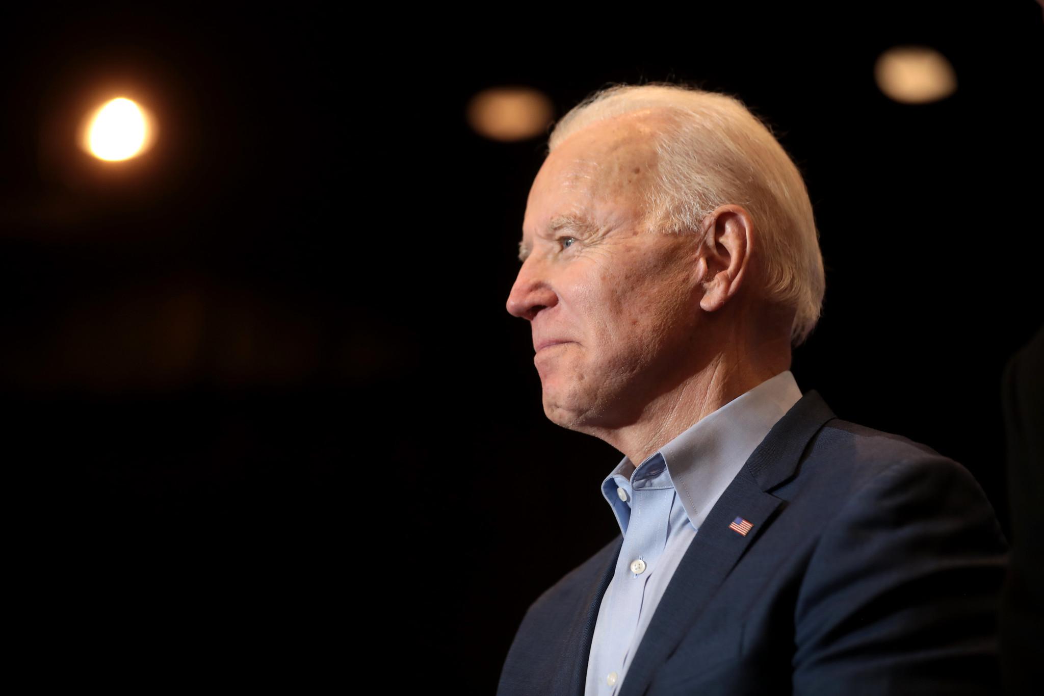 Joe Biden attends a pre-election event in Nevada.