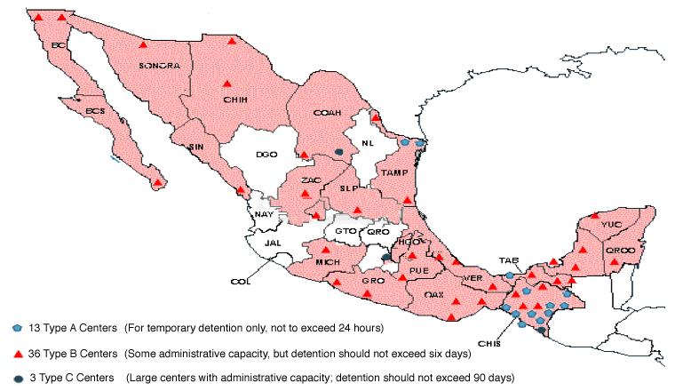 Mujeres Migrantes en Tránsito y Detenidas en México