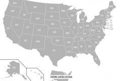DataHub US map