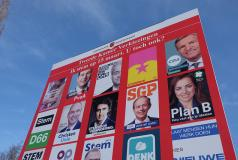 Posters for the 2017 Dutch parliamentary election