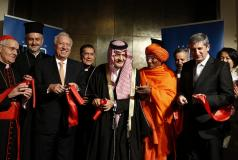 Opening of the International Center for Interreligious and Intercultural Dialogue in Vienna, Austria.