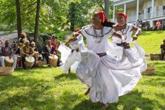 Caribbean Day dancers