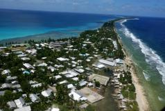 Rising sea levels threaten Pacific Islands