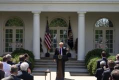 President Trump's May 2019 Rose Garden speech
