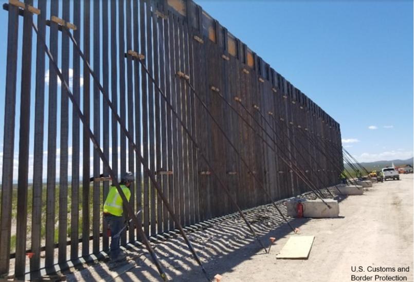 Fence on U.S.-Mexico border
