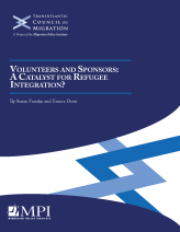 Cover of the report Volunteers and Sponsors: A Catalyst for Refugee Integration?