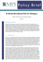 A Global Broadband Plan for Refugees