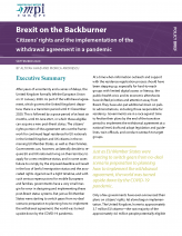 Brexit on the Backburner: Citizens' Rights and the Implementation of the Withdrawal Agreement in a Pandemic