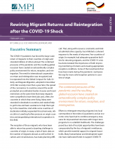Rewiring Migrant Returns and Reintegration after the COVID-19 Shock