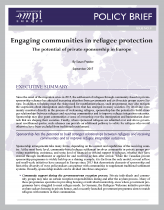 Engaging Communities in Refugee Protection: The Potential of Private Sponsorship in Europe