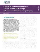 COVID-19 and the Demand for Labor and Skills in Europe: Early Evidence and Implications for Migration Policy
