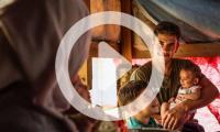 IOM Muse Mohammed Jasem a Syrian refugee resettled to France