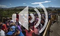 IOM MuseMohammed Venezuelan refugees and migrants cross the Puente Internacional Simon Bolivar