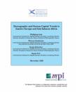 cover TCM_Demographic&humancaptrendsE.Europe&SubSaharanAfrica