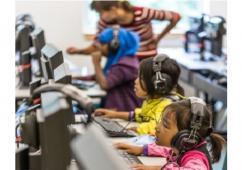 2016.8.25EventPHOTO CHILDREN COMPUTERS