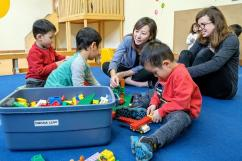 flickr province of british columbia   Minister of State visits early childhood development centre