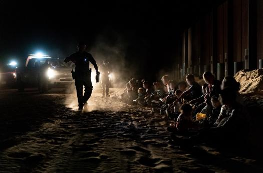 Border Patrol apprehensions at the U.S.-Mexico border