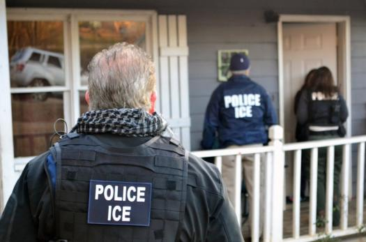 ICE fugitive operations team