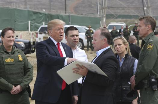 President Trump visits the San Diego border