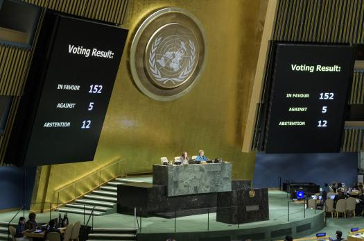 UN General Assembly endorses Global Compact for Migration