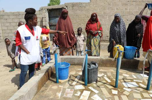 EU-funded safe water project in Nigeria