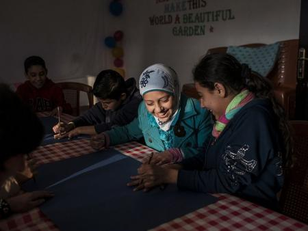 UNHCR_Syrian_schoolgirls_Lebanon