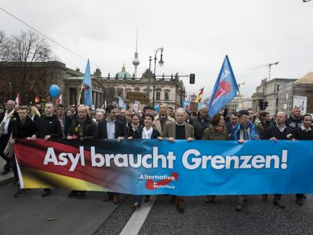 AfD rally in Berlin