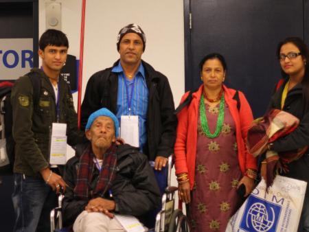 Bhutanese refugees.