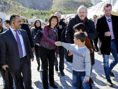 Members of the European Parliament visit Turkey to assess responses to the refugee crisis.