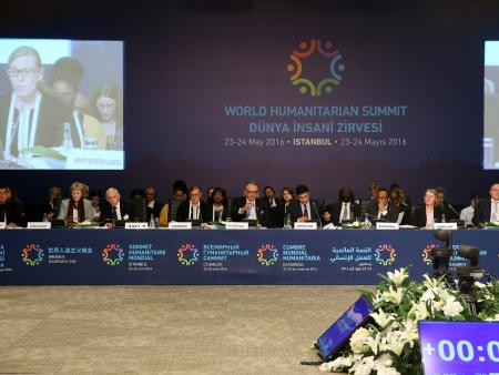 World Humanitarian Summit in Istanbul in May 2016.