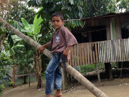 The son of Colombians who sought refuge in Ecuador
