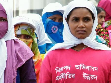 Female Bangladeshi migrant workers