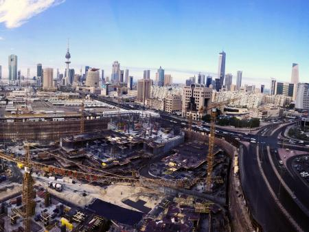 Construction site in Kuwait