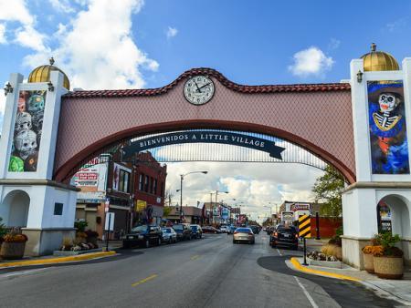 Arch to Little Village, Chicago