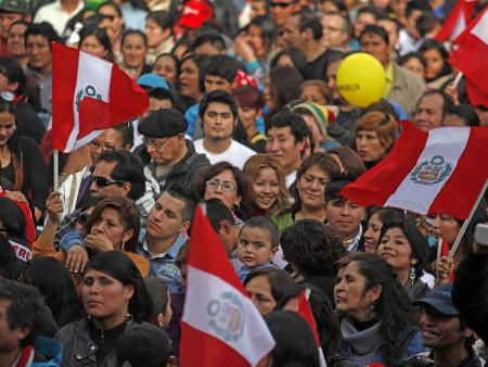 Peruvians in Santiago, Chile