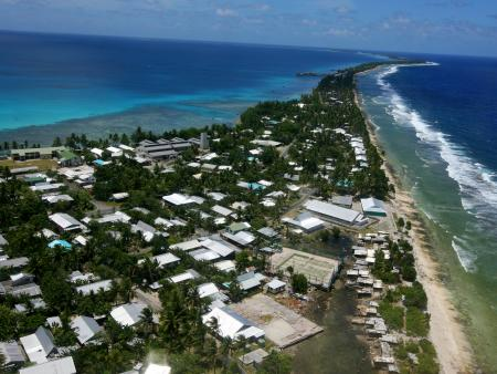 Rising sea levels threaten Pacific Islands
