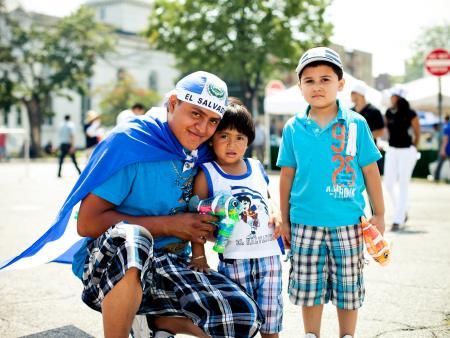 Salvadoran family