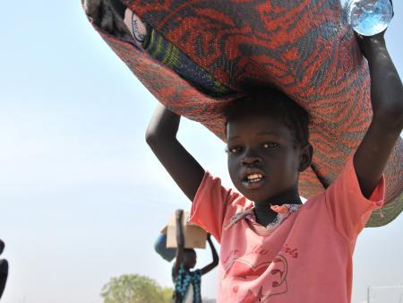 South Sudanese child