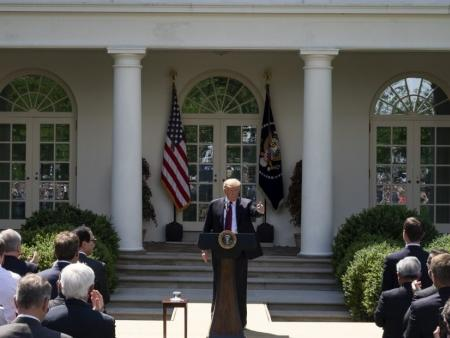 President Trump's May 2019 Rose Garden speech